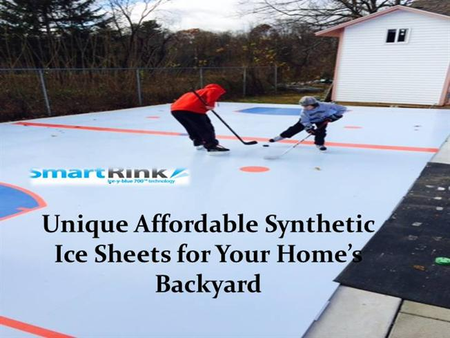 Unique Affordable Synthetic Ice Sheets For Your Homeu0027S Backyard  |authorSTREAM
