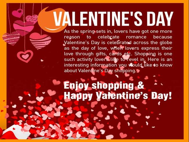 v-day online shopping trends in india during valentine's day, Ideas