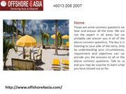 Offshore Company, Offshore Company Formation