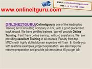 Quick Test Profissionals  Online Training in USA,Uk,Canada