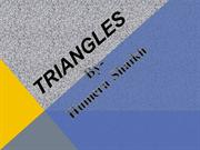 Triangles and its Different types (Basic-Sides & Angles)