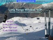 Ski long range wirelesss VOIP gateway
