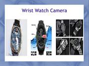 Watch camera Specially Design Sting operation