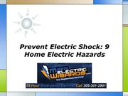 Prevent Electric Shock 9 Home Electric Hazards
