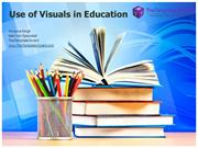 Use of Visuals in Education