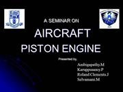 aircraft piston engine