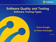 Software Testing Types - English_YTU_30October2012