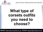 Corsets Outfits