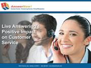 Live Answering's Positive Impact on Customer Service