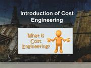 Introduction of Cost Engineering