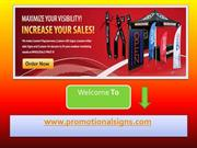 Use Quality Advertisement Items for Promotion of Company's Services