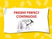 present perfect continuous part one