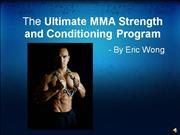 MMA Strength and Conditioning Program