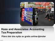 Hass and Associates Accounting Tax Preparation Filers bör dra nytta av