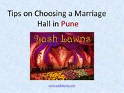 Yash Lawns best venue to organize marriage ceremony in Pune
