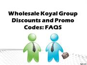 Wholesale Koyal Group Discounts and Promo Codes - FAQS