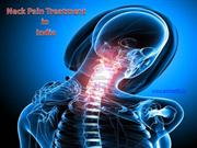 Avail low cost Neck pain treatment in India