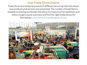 exhibition and trade show