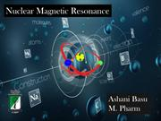 Nuclear Magnetic resonance (Decoupling)