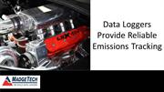 Data Loggers Provide Reliable Emissions Tracking