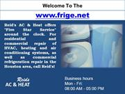 Air Conditioning Repair Houston - Refrigeration Repair