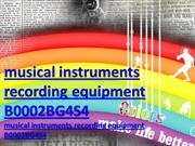 musical instruments recording equipment B0002BG4S4