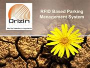 RFID based Vehicle Parking Management Solution