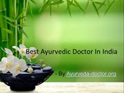 Best Ayurvedic Doctor In India And Ayurvedic Principles