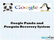 Google Panda and Penguin Recovery System