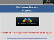 Smart Grid Technology Market by 2016
