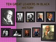 black history power point presentation - Top 12