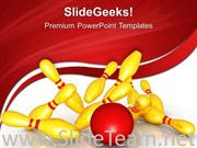 KNOCKING DOWN PINS GAME POWERPOINT BACKGROUND