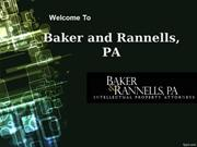 Welcome To Baker and Rannells