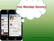 How to Recover WhatsApp messages from iPhone 5S for free
