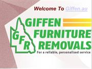 Presentation of Giffen Furniture Removals