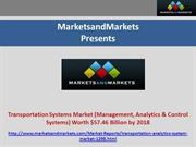 Transportation Systems Market (Management, Analytics & Control Systems