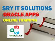 ORACLE APPS ONLINE TRAINING | ORACLE APPS COURSE DETAILS |