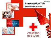 American Red Cross PowerPoint Template - www.medicalppttemplates.com