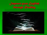 Improve your English through Reading