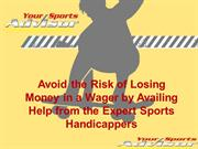 Sports handicappers