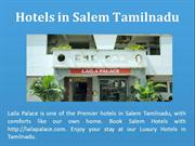Best Accommodation at Salem Tamilnadu