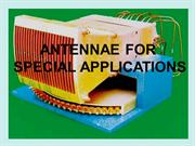 ANTENNA SPECIAL APPLICATIONS