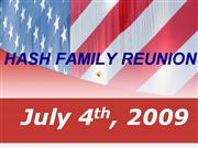 Hash Family Reunion July Theme