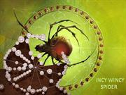 INCY WINCY SPIDER NURSERY RHYMES (ADORABLE SPIDERS)