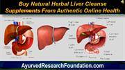 Buy Natural Herbal Liver Cleanse Supplements From Authentic Online Hea