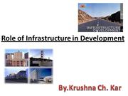 Role of Infrastructure in Development