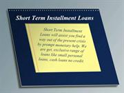 Short Term Installment Loans - Get Instant Money With No Upfront Fees