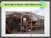 How to Select a Diy Chicken Coop
