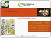 Buy online Essential Oil Manufacturer India