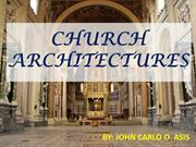 CHURCH ARCHITECTURES